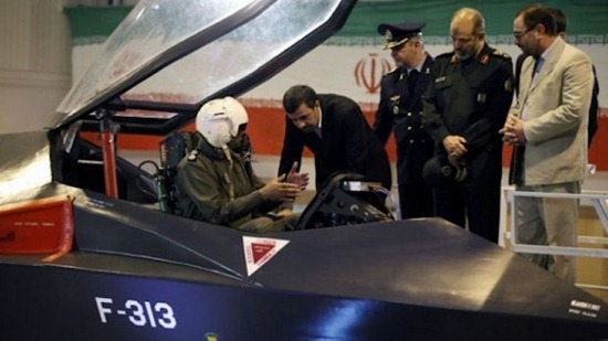 Iran's Qaher-313 figher plane