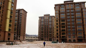Vacant Chinese Ghost City (Ordose)