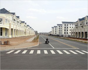 Vacant Chinese Ghost City (Ordos)