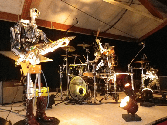 Compressorhead - the heaviest heavy metal band on the planet