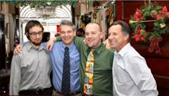 Paul Samaras, Carl Young, X, and Tim Samaras