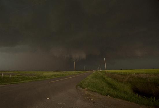 El Reno, Oklahoma EF-5 tornado - widest tornado in U.S. history