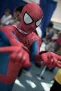 Spider-Man cosplay at the 2013 San Diego Comic Con