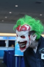 Joker cosplay at the 2013 San Diego Comic Con
