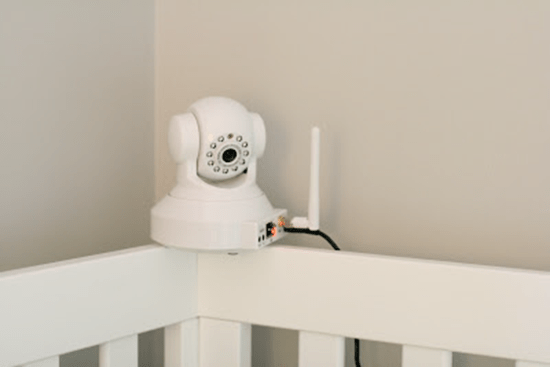 Baby monitor webcam