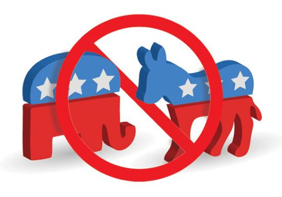 No Democrats No Republicans