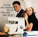 Vintage Kenwood ad says women are meant to be in the kitchen