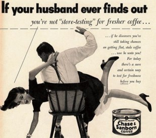 Chase and Sanborn Coffee shows us what it was like in the 50's