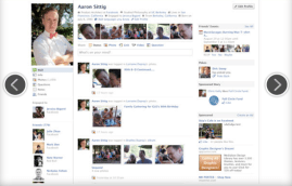 2010 - Facebook redesigns profiles