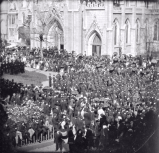 Frame 4 of 8 - Lincoln funeral procession