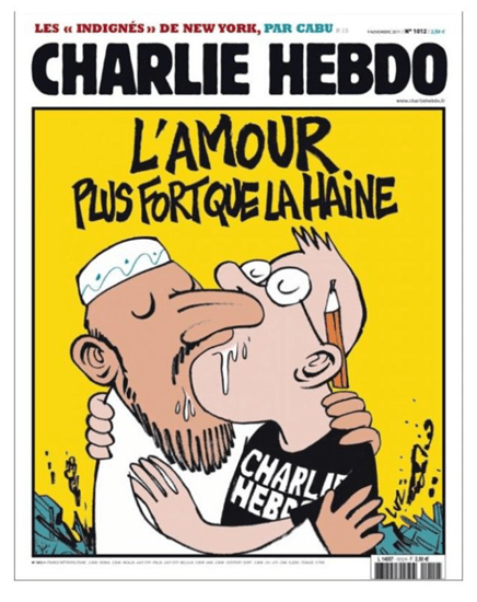 November 2011 cover of Charlie Hebdo