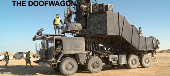 Mad Max: Fury Road Doof Wagon