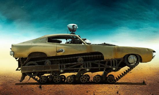 The Bullet Farmer's Peacemaker tank