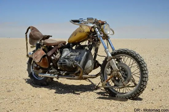 The Vuvalini's Touring Motorbikes from Mad Max Fury Road movie