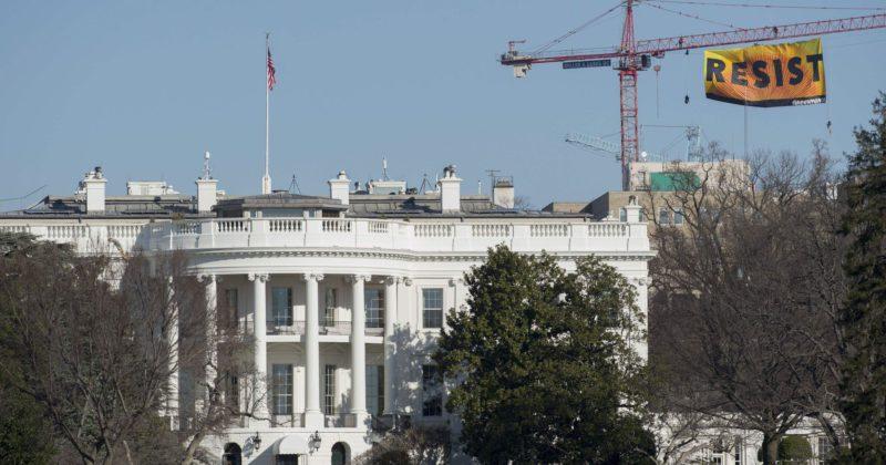 Whitehouse Resist banner