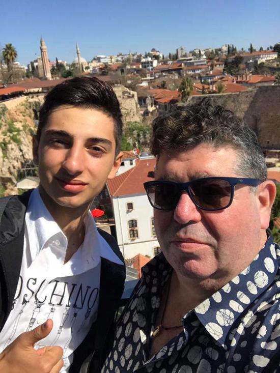 With Aydin Mamedov - courtesy Rob Goldstone
