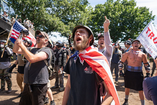 Proud Boys – When grown men act like frightened little boys and are proud of it.
