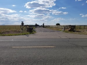 Jeffrey Epstein New Mexico Ranch (main entrance and guest houses)