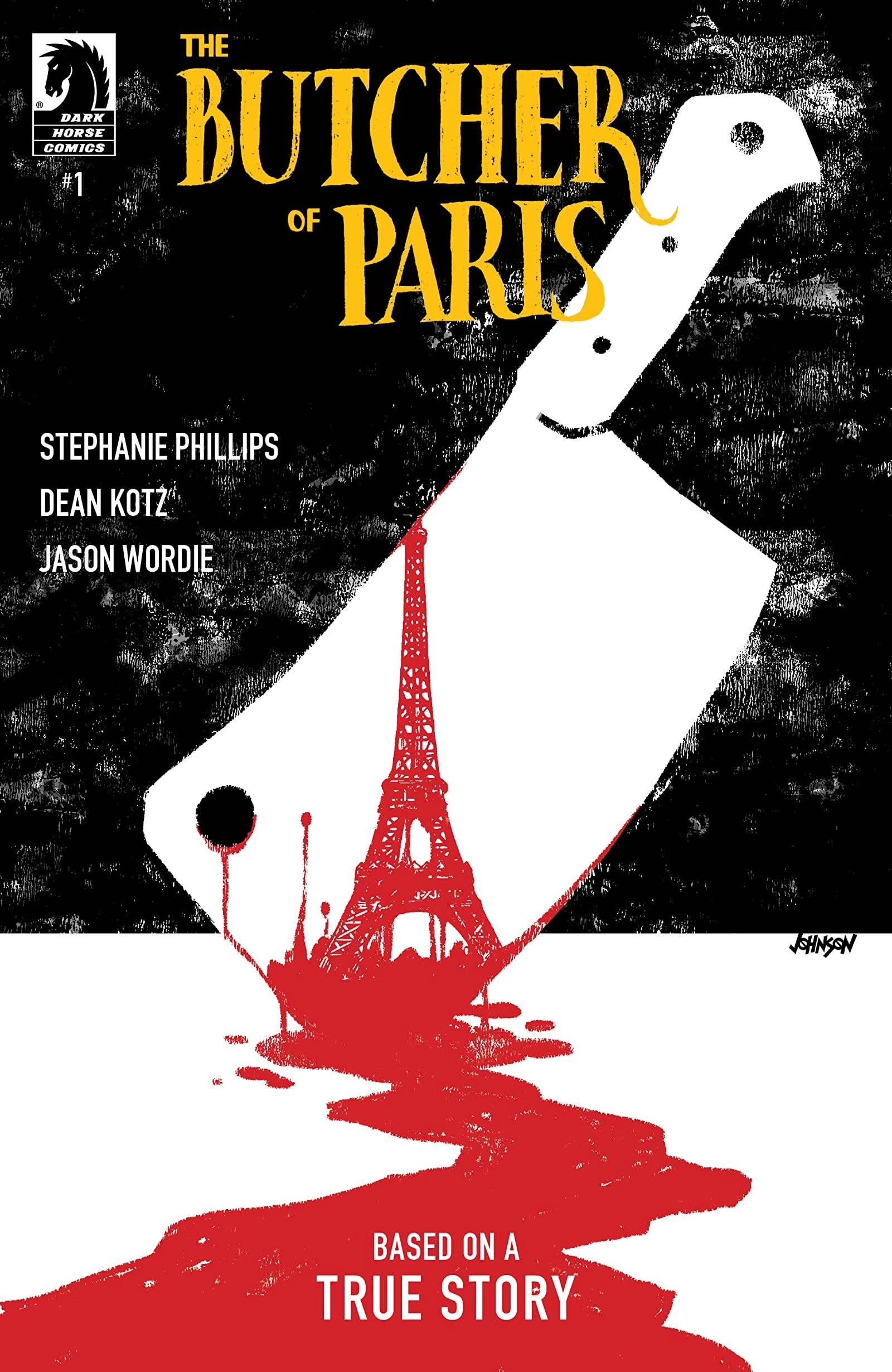 Butcher of Paris - cover by Dave Johnson (Dark Horse)