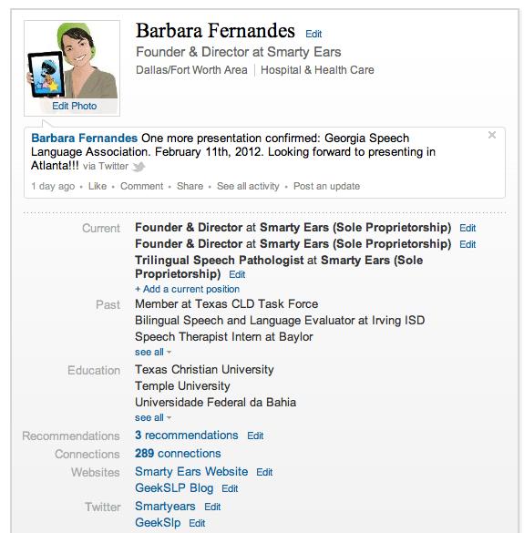 Linkedin For Speech Language Pathologists – GeekSLP