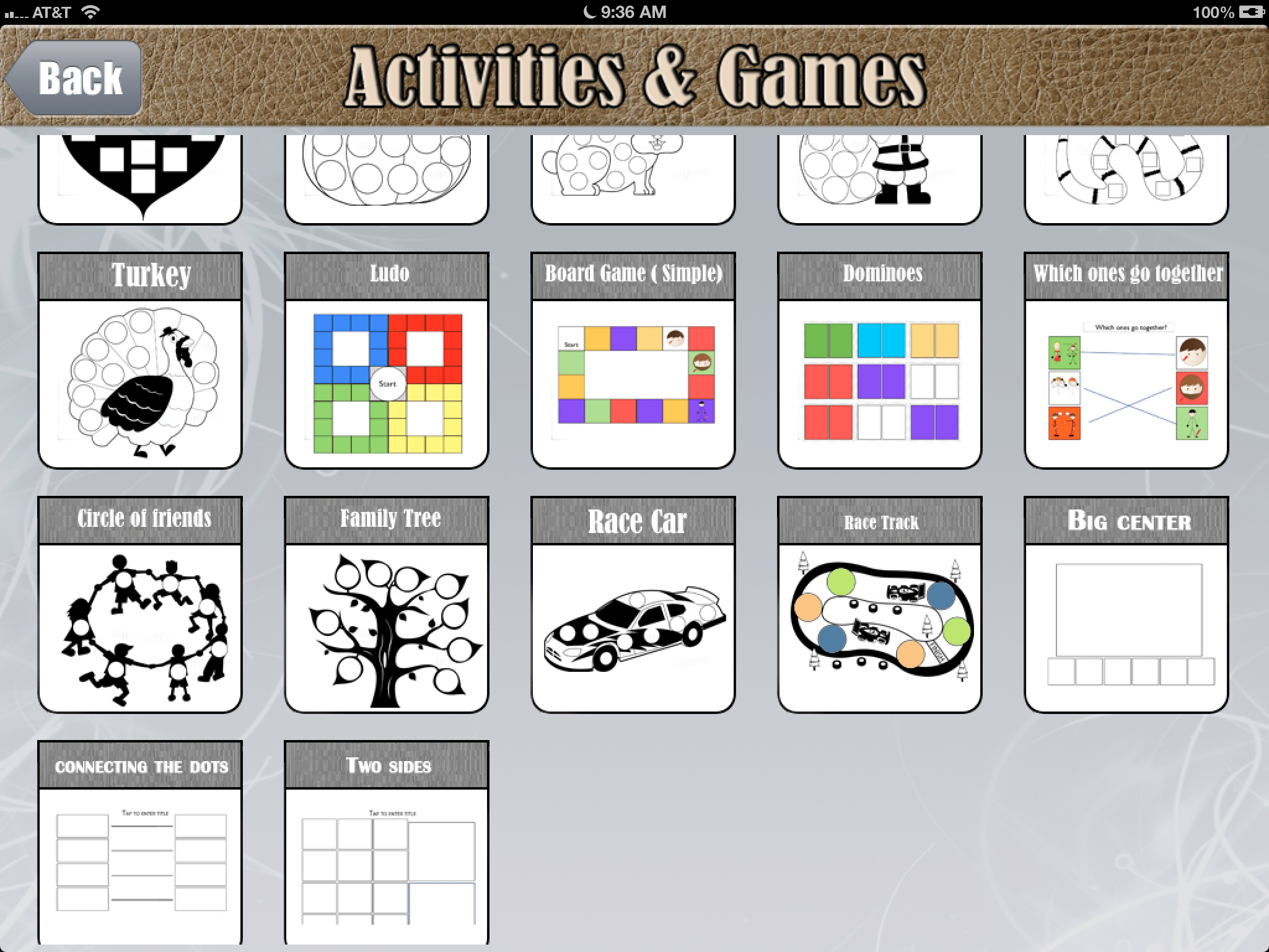 Using Custom Boards For Ipad To Create Printable Materials