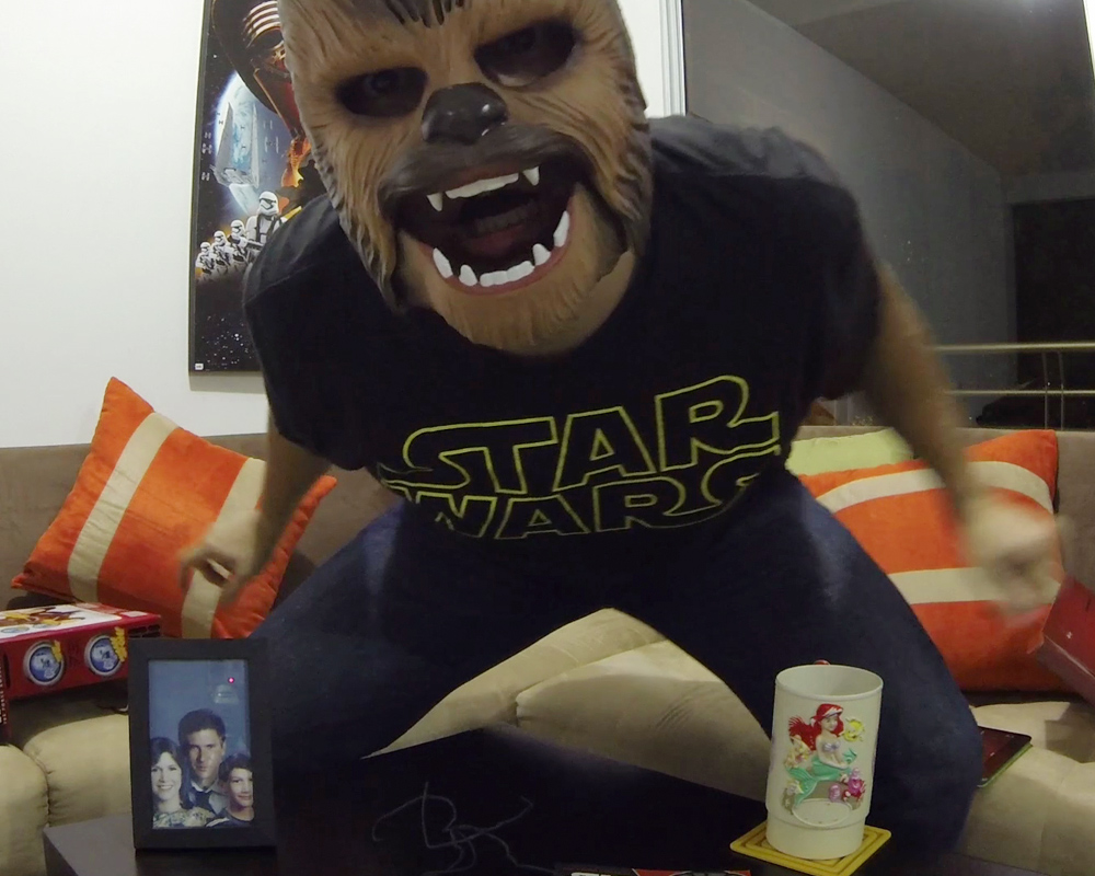 Mascara De Chewbacca