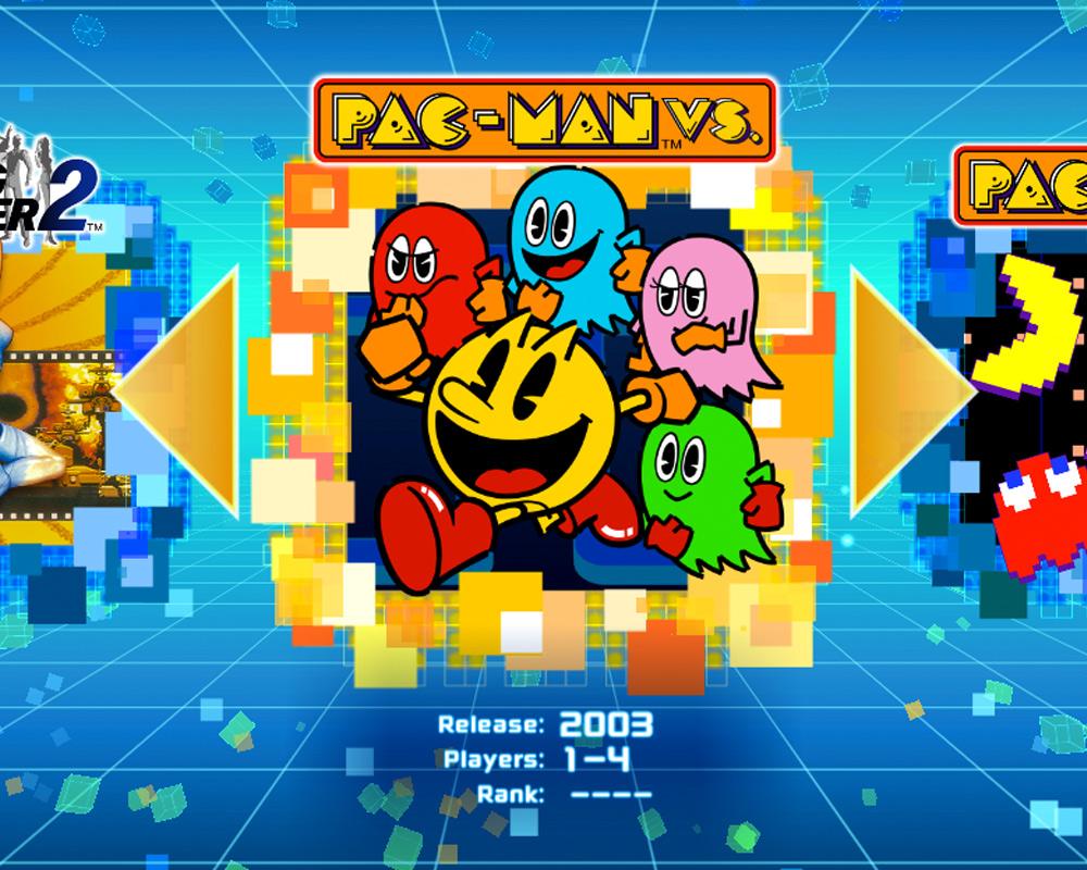 Pac-Man VS. Namco Museum