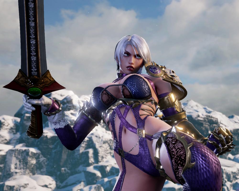 Ivy y Zasalamel regresan en Soulcalibur VI
