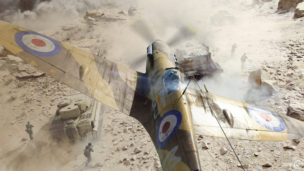 Aviones y Tanques en Battlefield V