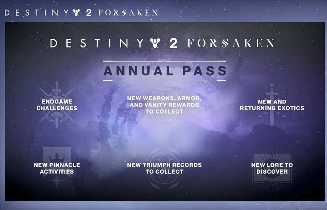 Destiny 2: Forsaken Annual Pass