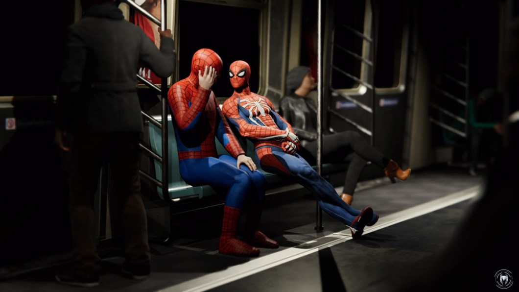 Spider-Man - Subway