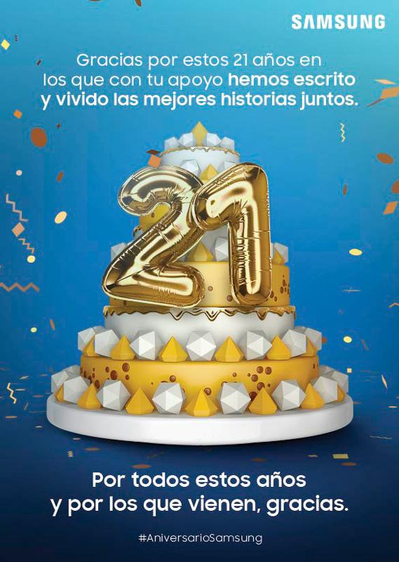 Blue Week - Aniversario Samsung Colombia
