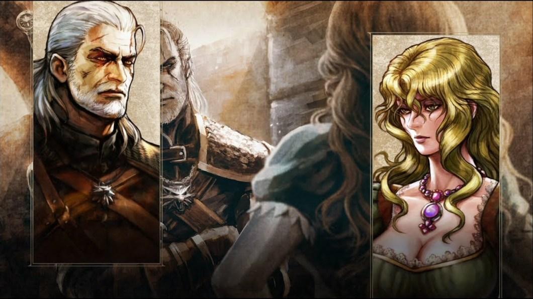 Geralt de Rivia en SOULCALIBUR VI.