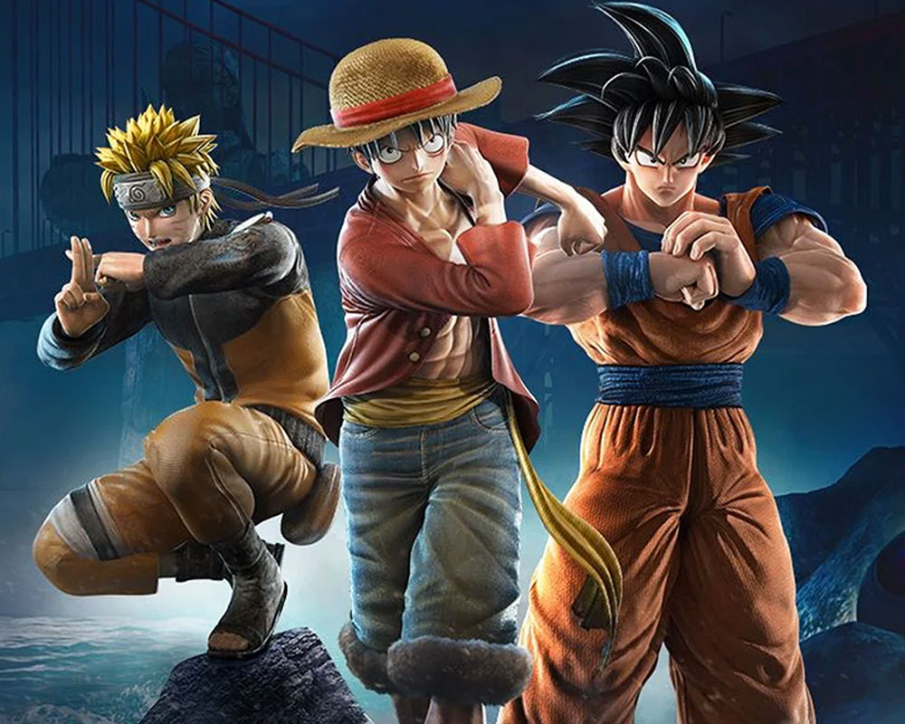 Jump Force: Naruto, Luffy y Goku
