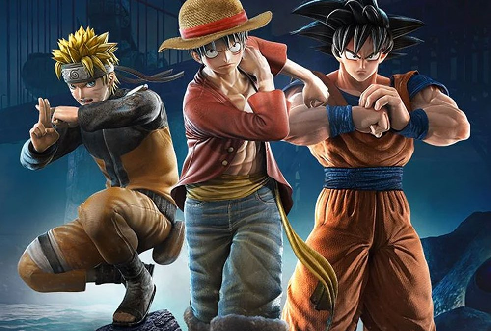 Jump Force: Naruto, Luffy y Goku
