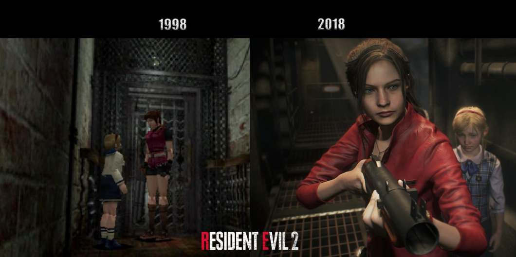 Resident Evil 2 Remake - Claire y Sherry.