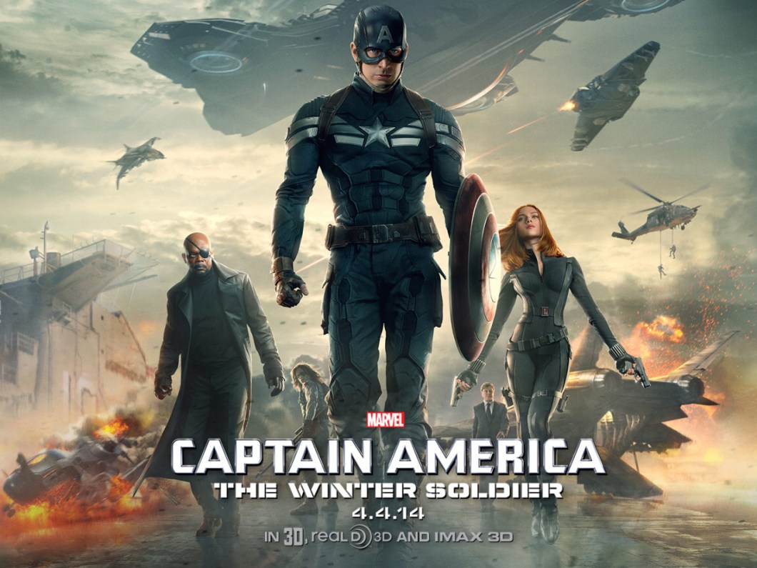 Captain America: The Winter Soldier - Marvel MCU Fase 2