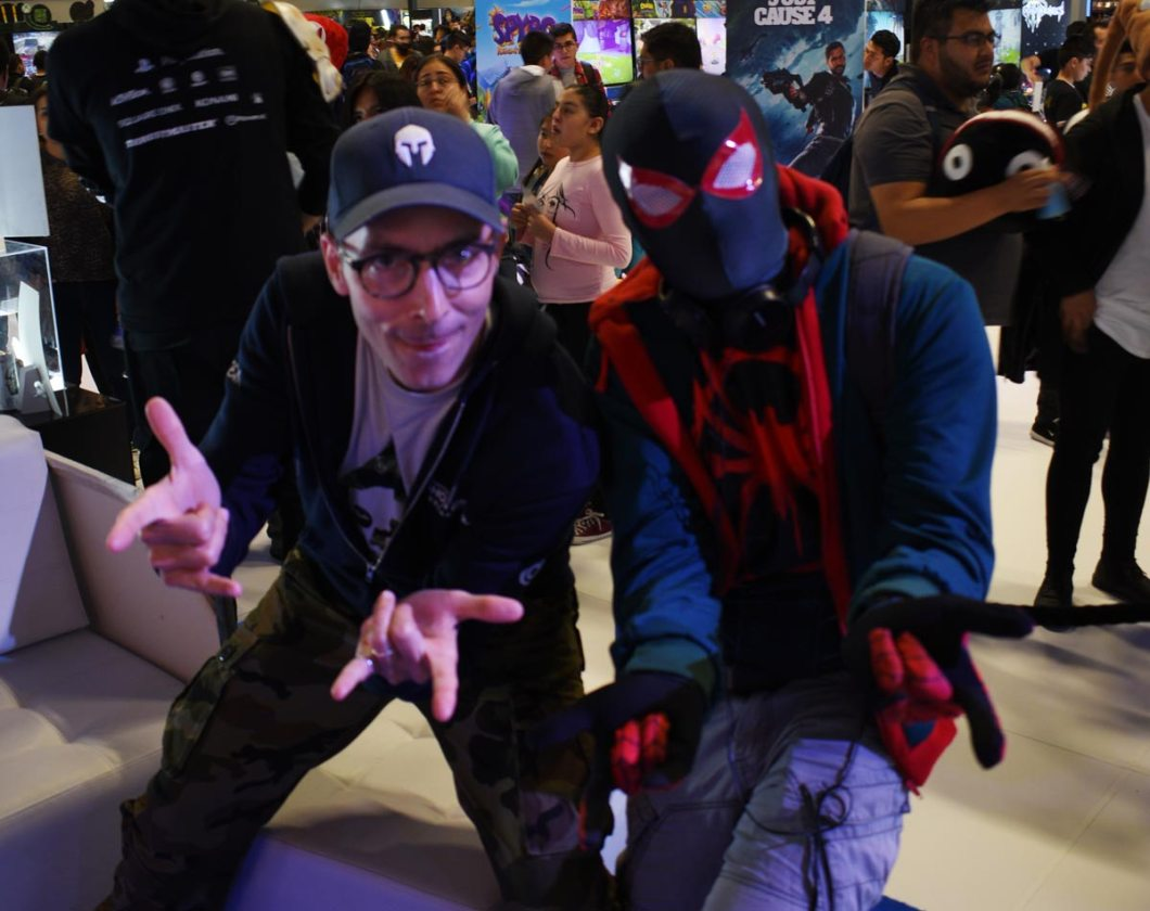 Jonathan Gringas y Spider-Man