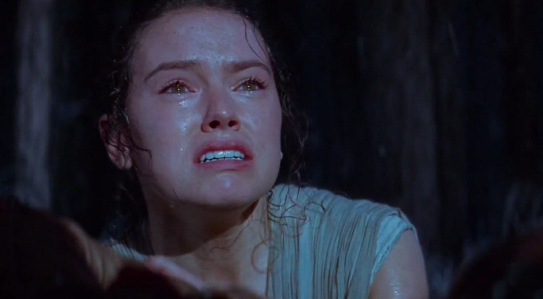 Rey Llorando - Star Wars