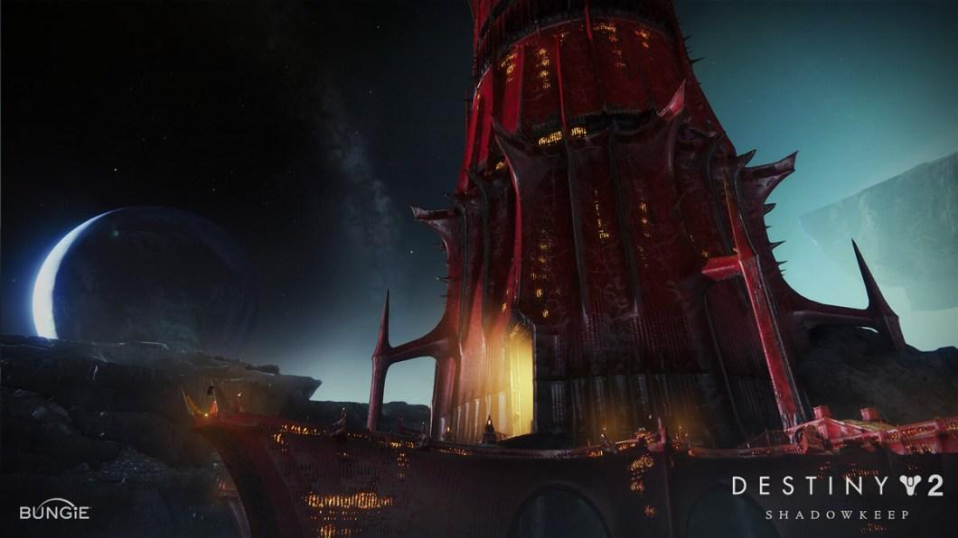Destiny 2 - Shadowkeep - Red Tower