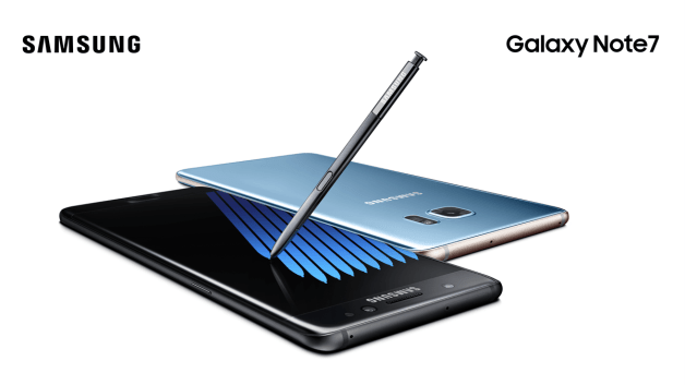 Images from Samsung Galaxy Note 7 launch