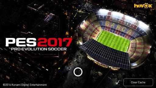 download Pro evolution soccer 2017 apk mod