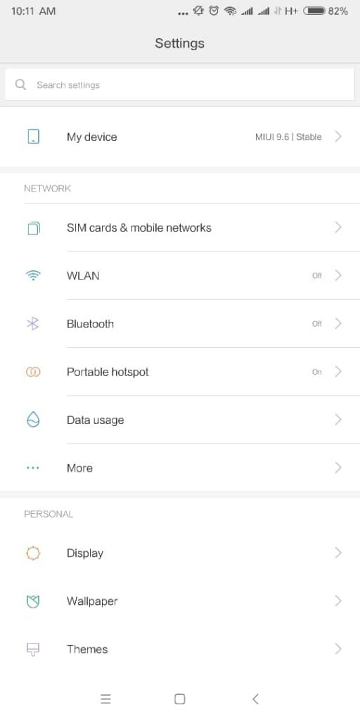 Xiaomi release MIUI 10 Stable ROM Update for Redmi 8SE