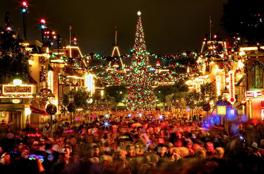Stunning Disneyland Christmas Photos