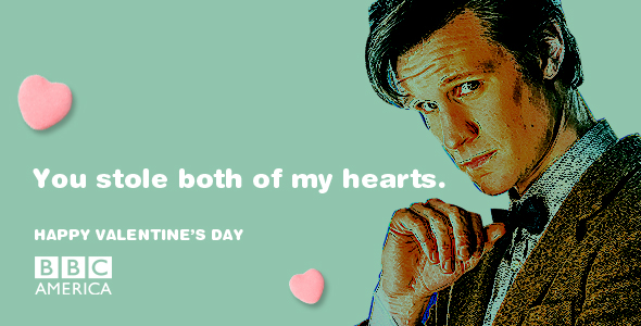 Send A Doctor Who Valentines Day E Card