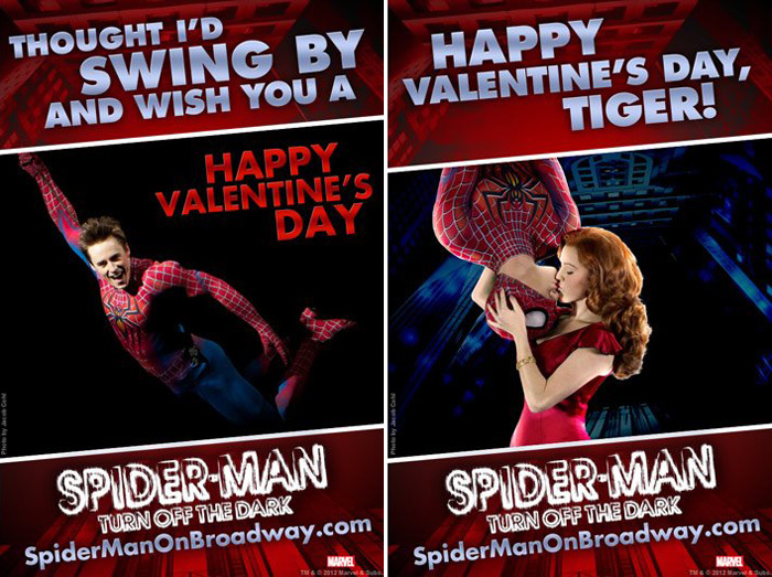 Send A Valentines Day Greeting From Spider Man With Free