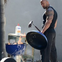What's That Smell? Just The Rock...Cooking.