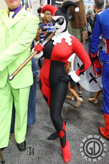 Sdcc 2012 Cosplay - Harley Quinn