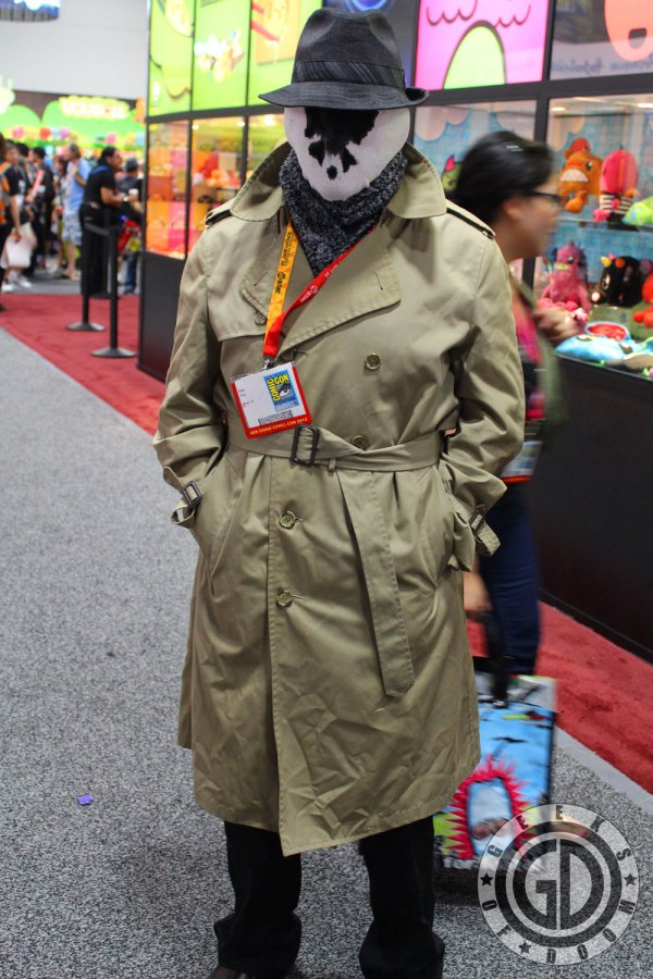 Sdcc 2012 Cosplay - Rorschach