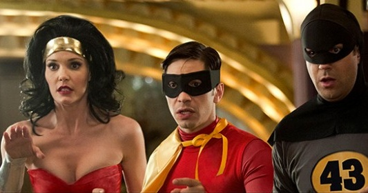 Movie 43 Wonder Woman Batman and Robin